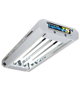 Lightwave T5 Stecklingsbeleuchtung 48W (2x 24W Leuchtstoffröhren)