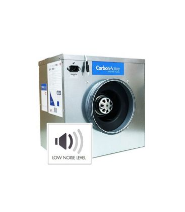 CarbonActive EC Silent Box 2250m³/h 315mm 1500 Pa