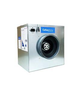 CarbonActive EC Silent Box 280m³/h 125mm 450 Pa