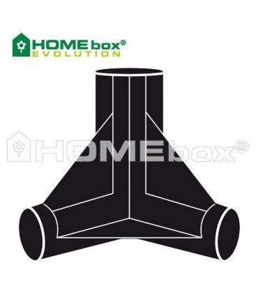 Homebox Spare Parts 3 Wege Verbinder 22mm (4 Stück)