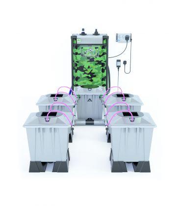 "Alien Hydroponics Aeroponik System ""Silver Series"""