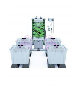 Alien Hydroponics Aero System (Silver Series) 30 L (4 Pflanzen)