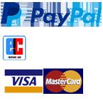 PayPal, EC Lastschrift, Visa, Mastercard