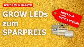 Grow LED-Abverkauf: das größte Grow Guru-Schnäppchen aller Zeiten!