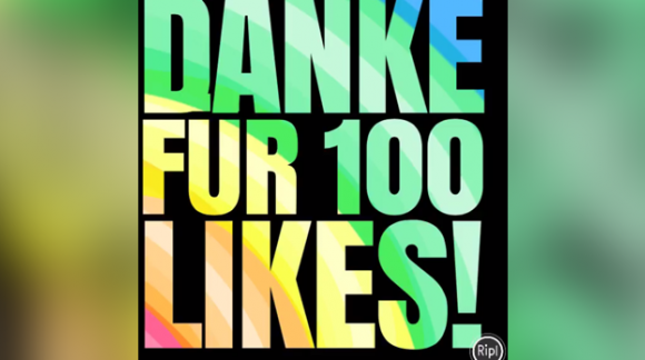 100 Likes geschafft!