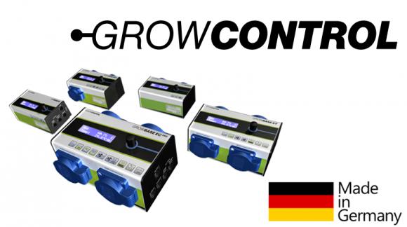 Neu! GrowControl Steuerungsgeräte